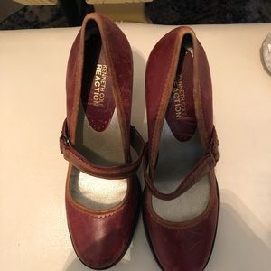 Kenneth Cole Distressed Pumps